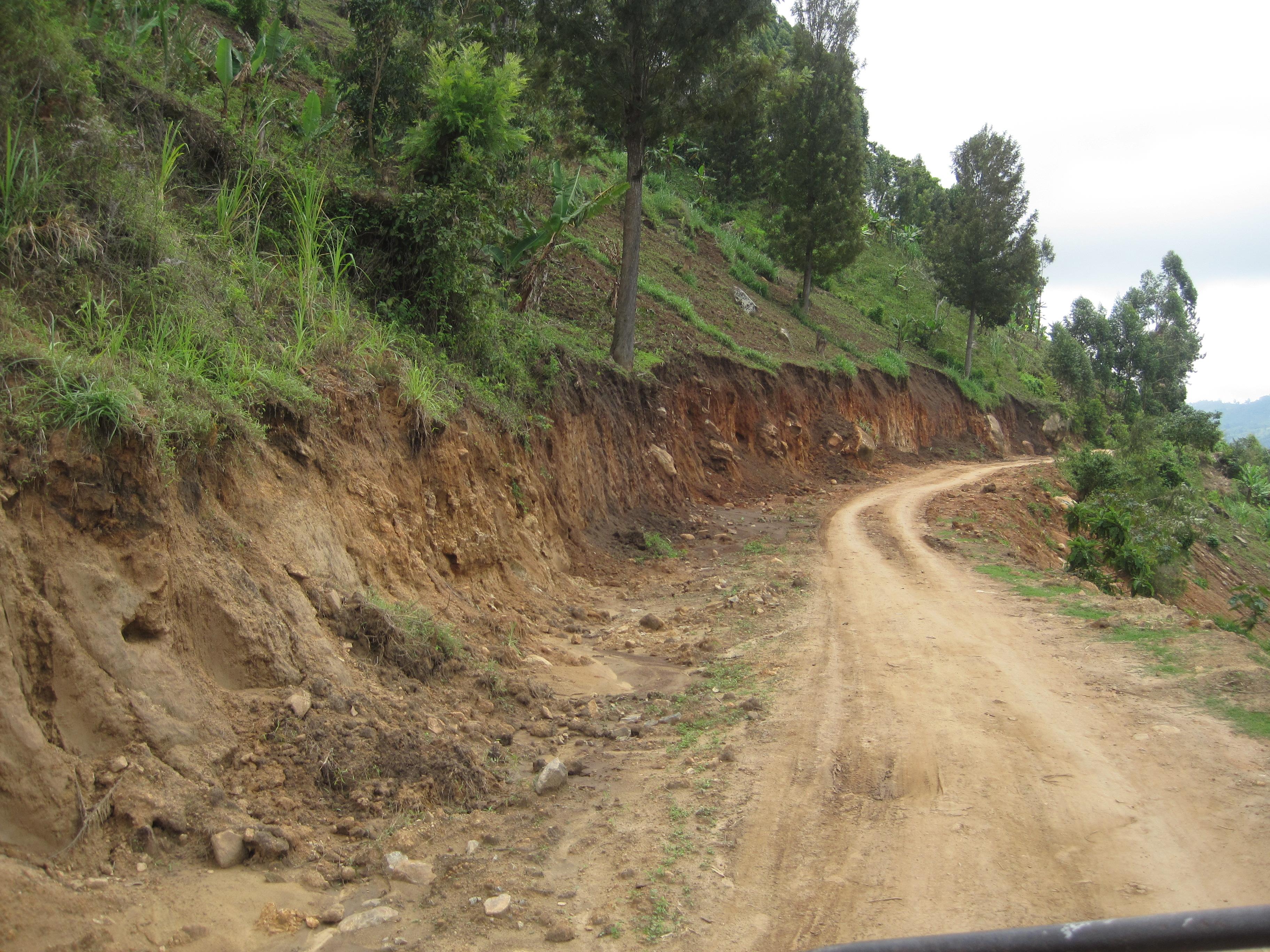Erosion also means loss of precious farmland