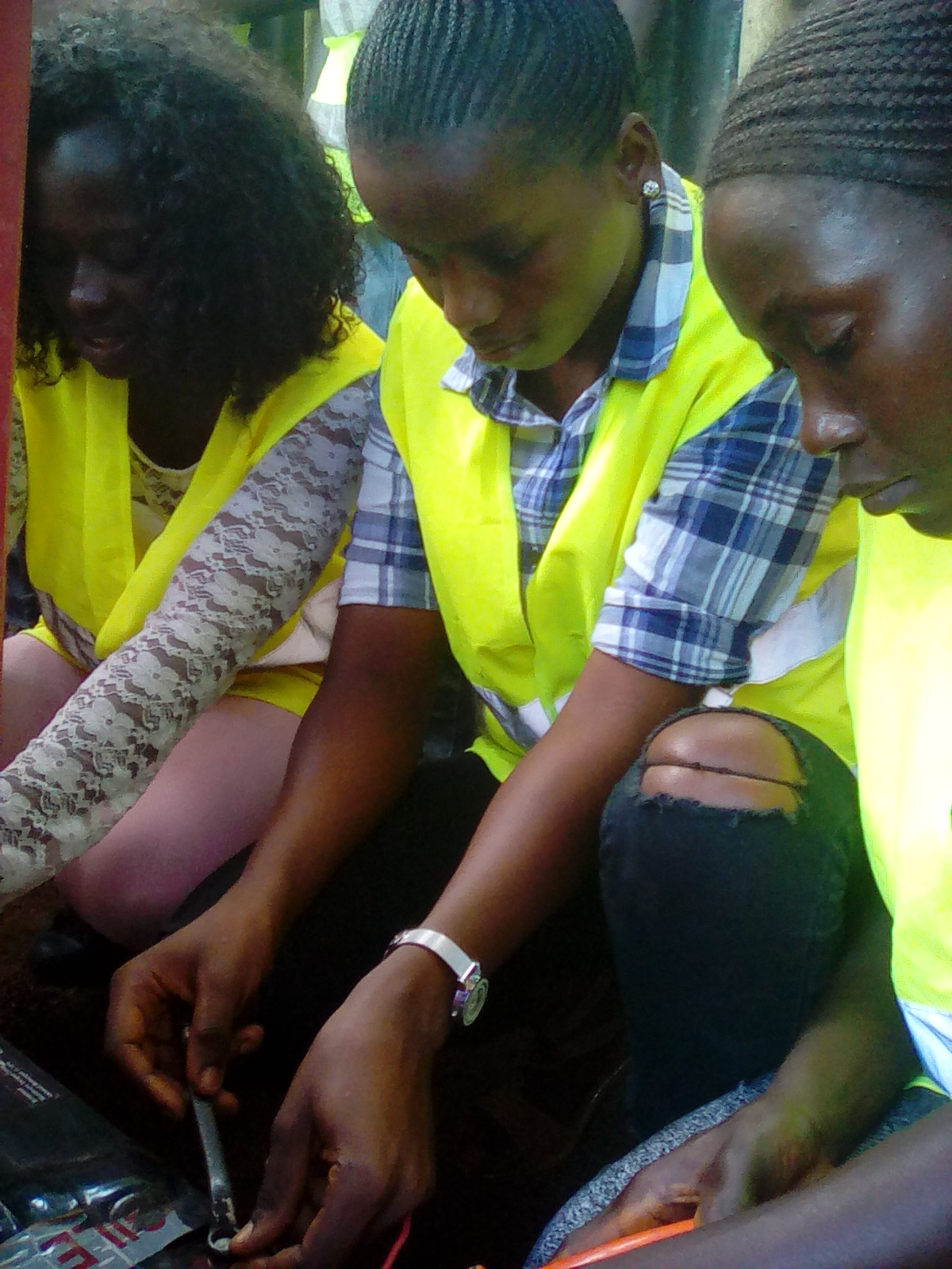 A focus is on women to be trained as technicians who maintain the installations
