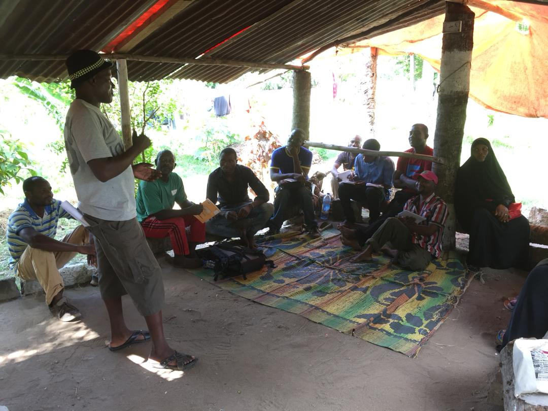 Permaculture workshop at the Practical Permaculture Institute Zanzibar